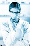 Porträt eines helth Sorgfaltfachmannes Lizenzfreie Stockfotografie