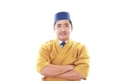 Porträt eines japanischen Chefs Lizenzfreie Stockbilder