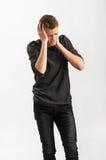 Porträt eines Jugendlichen Stockfotografie