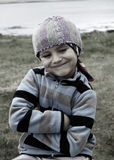 Porträt eines Jungen lizenzfreie stockfotografie