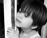 Porträt eines Jungen lizenzfreie stockfotos