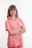 Porträt eines jungen Doktors Lizenzfreie Stockfotos