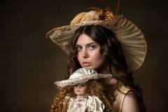 Porträt eines jungen gir lizenzfreie stockfotografie