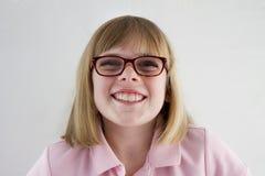 Porträt eines jungen Mädchens stockbilder