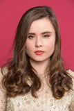 Porträt eines jungen Mädchens mit einem ernsten Blick Stockfoto