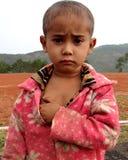 Porträt eines Khasi-Babys Stockfotografie