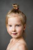 Porträt eines Kleinkindmädchens Lizenzfreies Stockbild