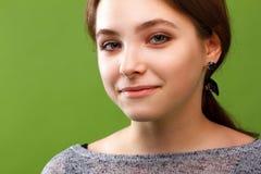 Porträt eines lächelnden Mädchens Lizenzfreie Stockfotos