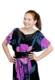 Porträt eines Mädchenjugendlichen. stockfotografie