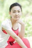 Porträt eines Mädchens Stockfoto