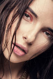 Porträt eines Mädchens Stockfotos