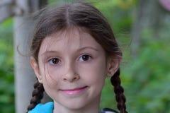 Porträt eines Mädchens lizenzfreie stockbilder