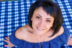 Porträt eines Mädchens 25 Jahre Lizenzfreies Stockbild