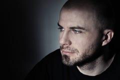 Porträt eines Mannes stockbild