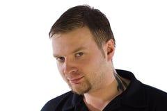 Porträt eines Mannes Stockbilder