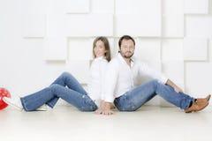 Porträt eines Mannes und der Frau stockfotografie