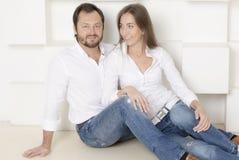 Porträt eines Mannes und der Frau lizenzfreies stockfoto