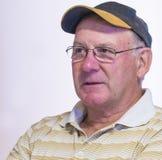 Porträt eines Mannes von mittlerem Alter stockfoto