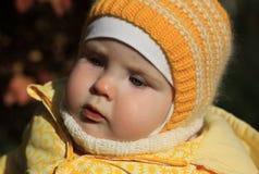 Porträt eines 10-Monats-Babys Lizenzfreies Stockfoto