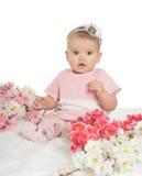 Porträt eines netten Babys lizenzfreie stockbilder