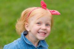 Porträt eines netten kleinen Pin-up-Girl Stockfotos