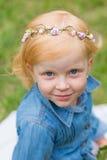 Porträt eines netten kleinen Pin-up-Girl Lizenzfreie Stockfotos
