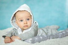 Porträt eines netten 6-Monats-Babys Lizenzfreies Stockbild