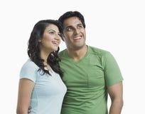 Porträt eines Paares stockfoto