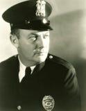 Porträt eines Polizisten Stockfoto