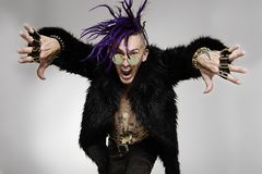 Porträt eines Punks Lizenzfreie Stockbilder