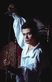 Porträt eines romantischen Mannes Lizenzfreies Stockfoto