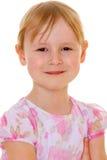 Porträt eines roten behaarten Mädchens Lizenzfreie Stockfotografie