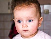 Porträt eines schönen kleinen Babys Lizenzfreies Stockbild