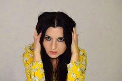 Porträt eines schönen Mädchens Lizenzfreies Stockfoto