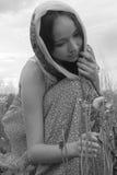 Porträt eines schönen Mädchens Stockfoto