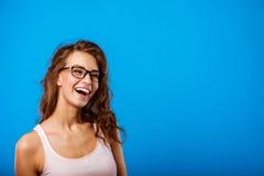 Porträt eines schönen Mädchens Stockbild