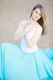 Porträt eines schönen weiblichen Tänzers Lizenzfreies Stockfoto
