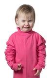 Porträt eines schreienden Kindes Lizenzfreies Stockbild