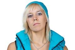 Porträt eines Sportmädchens Lizenzfreies Stockfoto