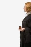 Porträt eines weiblichen Richters lizenzfreies stockbild