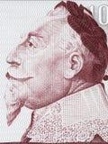 Porträt Gustav II Adolf Stockfotos