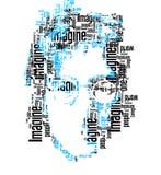 Porträt John Lennon Lizenzfreie Stockbilder
