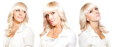 Sexy blonde Zwillinge Lizenzfreie Stockfotos