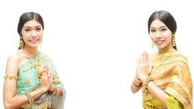 Porträt thailändischer junger Dame Stockbilder
