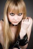 Porträt vom blonden Stockbild