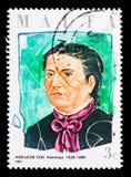 Porträt von Adelaide Cini, maltesisches Philanthrop sserie, circa 1986 Stockfoto