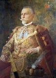 Porträt von Adolf pl Mosinski, Bürgermeister von Zagreb 1892-1904 Lizenzfreie Stockfotos