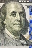 Porträt von Benjamin Franklin Stockbilder