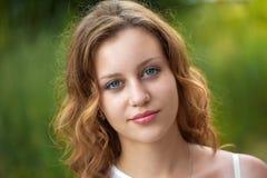 Porträt von hübschen Frauen Lizenzfreies Stockfoto