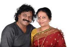 Porträt von indischen Paaren Stockfotografie
